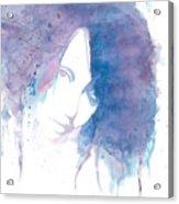 Chromatic Girl Acrylic Print