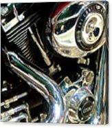 Chrome Beauty 1 Acrylic Print