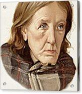 Chronic Dementia, 1896 Acrylic Print