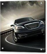 Chrysler 200 Acrylic Print