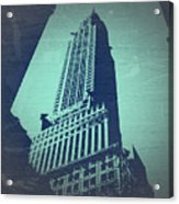 Chrysler Building  Acrylic Print by Naxart Studio