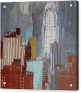Chrysler Building, New York Acrylic Print