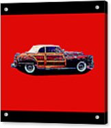 Chrysler Town And Country Convertible Roadster Acrylic Print