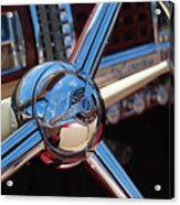 Chrysler Town And Country Steering Wheel Acrylic Print
