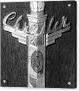 Chrystler Emblem Acrylic Print