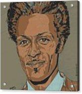 Chuck Berry - Brown-eyed Handsome Man  Acrylic Print