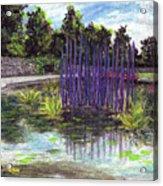 Chuhuly Installation At Biltmore Water Gardens Acrylic Print