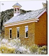 Church - Grafton Utah Acrylic Print