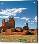 Church Abo - Salinas Pueblo Missions Ruins - New Mexico - National Monument Acrylic Print