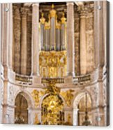Church Altar Inside Palace Of Versailles Acrylic Print