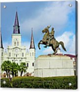 Church And State Acrylic Print