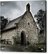 Church At Castle Frankenstein Acrylic Print
