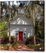 Church At Micanopy Acrylic Print