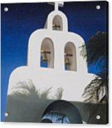 Church At Playa Del Carmen Acrylic Print