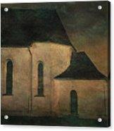 Church At Twilight Acrylic Print