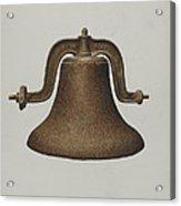 Church Bell Acrylic Print