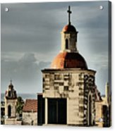 Church Bell Tower, Old Havana Acrylic Print