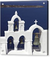 Church Bells And The Sea Acrylic Print