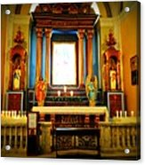 Church Colors Acrylic Print