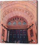 Church Doors Acrylic Print