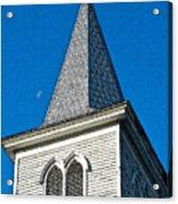 Church Drawing Acrylic Print