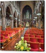 Church Flowers Acrylic Print