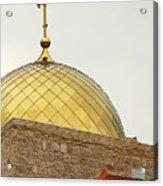 Church Golden Dome Acrylic Print