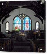 Church - Grand Caymans Acrylic Print