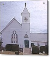 Church In Damascus Maryland Acrylic Print