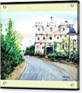 Church In Goa Acrylic Print