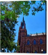 Church In Sc Acrylic Print