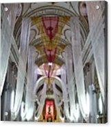 Church Interior 1 Guatemala  Acrylic Print