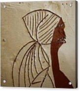 Church Lady - Tile Acrylic Print