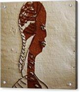 Church Lady 11 - Tile Acrylic Print