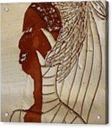 Church Lady 5 - Tile Acrylic Print