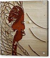 Church Lady 7 - Tile Acrylic Print