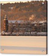 Church Landing In January Acrylic Print