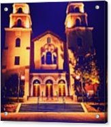 Church Night Acrylic Print