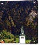 Church Of Bad Oberdorf  Acrylic Print