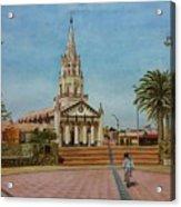Church Of Caldera Acrylic Print