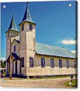 Church Of Chacao Acrylic Print