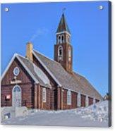 church of Ilulissat - Greenland Acrylic Print