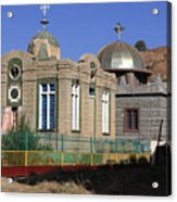 Church Of Our Lady Mary Of Zion Acrylic Print