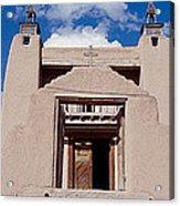 Church Of San Jose De Garcia, Las Acrylic Print