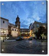 Church Of Santo Domingo Panorama Cadiz Spain Acrylic Print