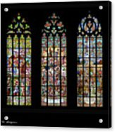 Church Of St. Barbara, Kuntna Hora, Czech Republic, Trilogy Acrylic Print