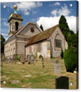 Church Of St. Lawrence West Wycombe 3 Acrylic Print