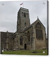 Church Of St. Mary's - Wedmore Acrylic Print
