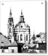 Church Of St Nikolas Acrylic Print