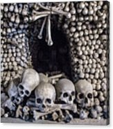 Church Of The Bones Acrylic Print